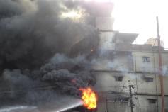Tampaco Foils fire