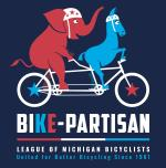 Bike-Partisan Sticker