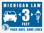Safe Passing Sticker
