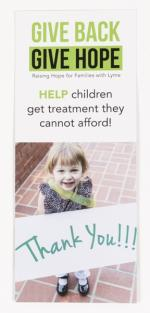 Give Back Give Hope Donate Card