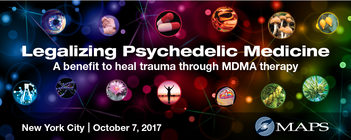 An intimate dinner discussing the future of psychedelic medicine, to benefit MAPS
