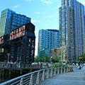 skyline of Long Island City in Queens, New York