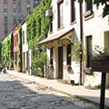 row houses in Greenwich Village