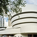 exterior of the Guggenheim Museum in New York City