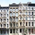 exterior of buildings in Soho, New York City