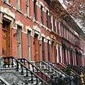 row houses in the South Bronx