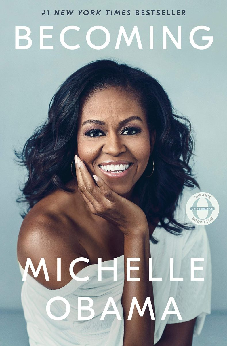 Michelle Obama, Becoming book cover