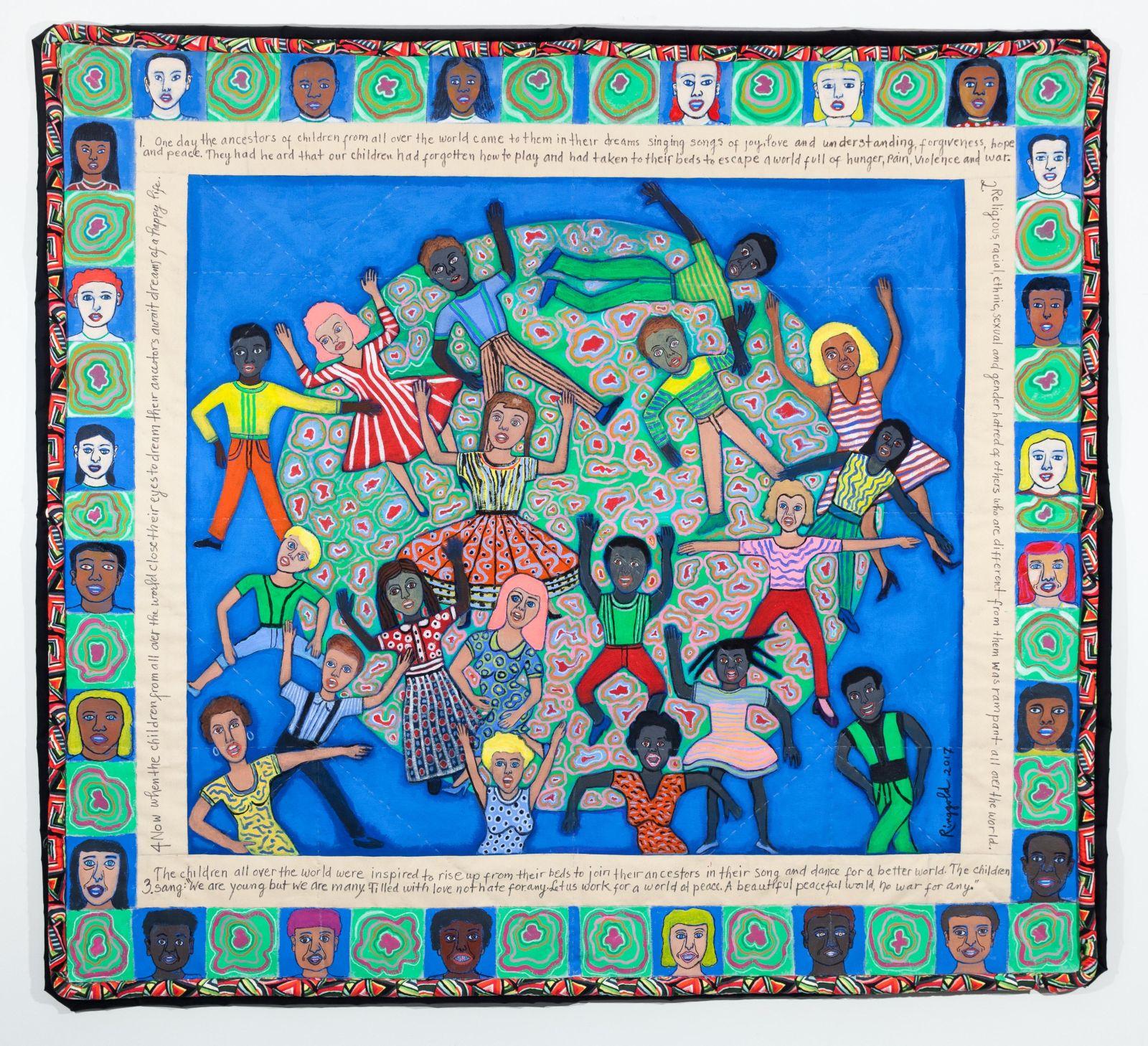 Faith Ringgold Ancestors Part II, 2017