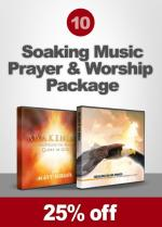 Package 10 - Soaking Music: Prayer & Worship (CD)