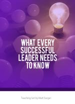 What Every Successful Leader Needs To Know (MP3)