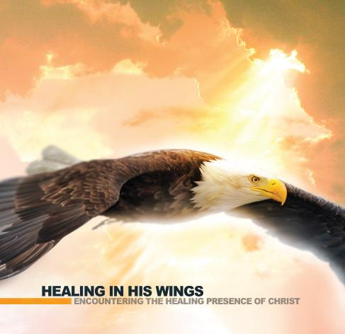 Healing In His Wings cover