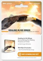 Healing In His Wings (Drop Card)