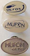 Set of 3 MUFON lapel pins