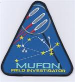 MUFON FIELD INVESTIGATOR PATCH