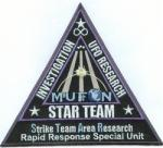 STAR TEAM MUFON FIELD INVESTIGATOR PATCH