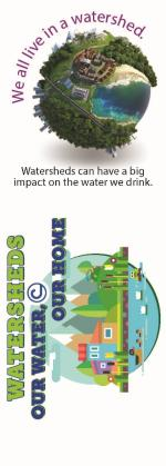 2018 Bookmark - Watersheds: Our Water, Our Home