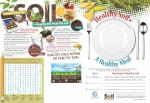 "2019 Placemat/Activity Sheet - ""Life in the Soil:"