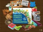 "2021 Poster ""Healthy Forests, Healthy Communities"""