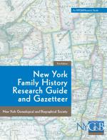 NY Family History Research Guide and Gazetteer