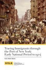 Tracing Immigrants through the Port of NY (D)