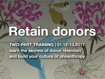culture of philanthropy training milwaukee nonprofits