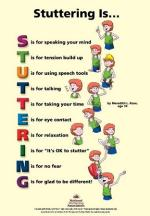 Stuttering Is... Poster
