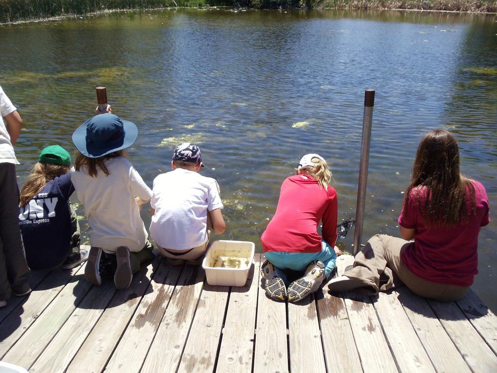 PEEC campers explore the Rio Grande