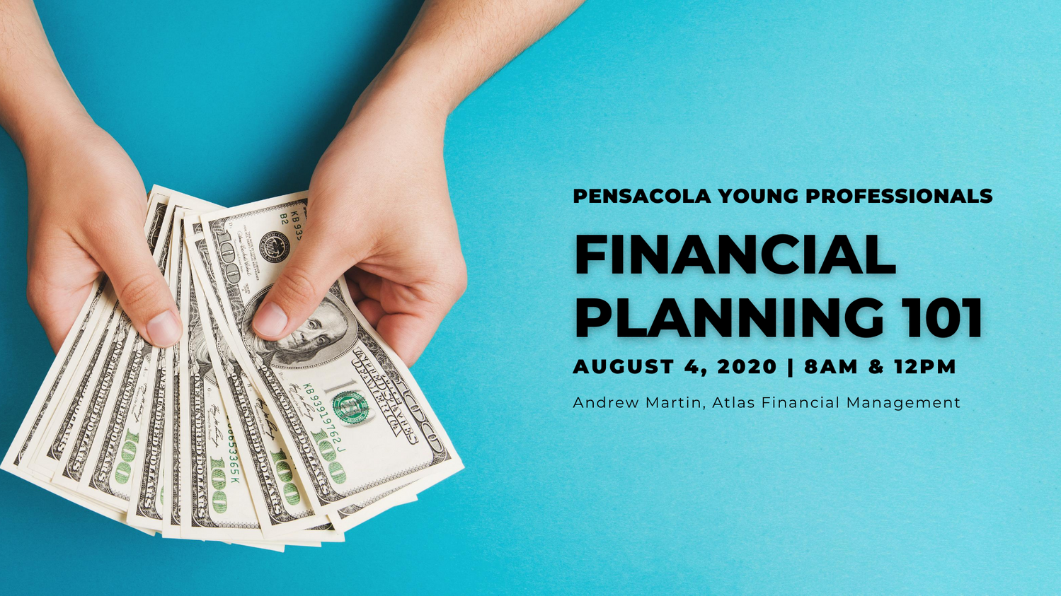 Financial Planning 101 | August 4, 2020 - 8am & 12pm
