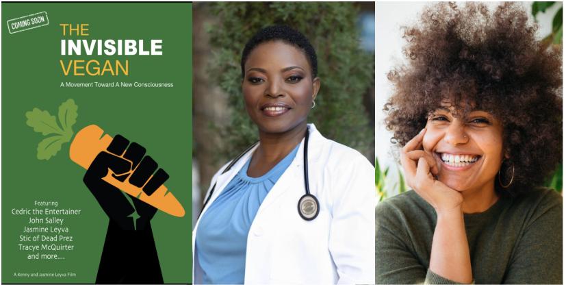 Invisible Vegan poster, Dr. Diane Thompson, Ysanet Batista