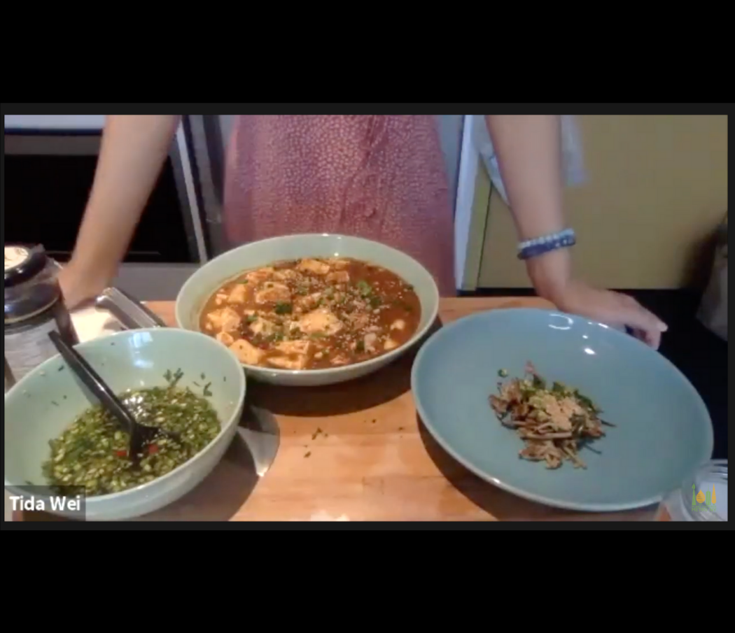 Tida Wei's dishes