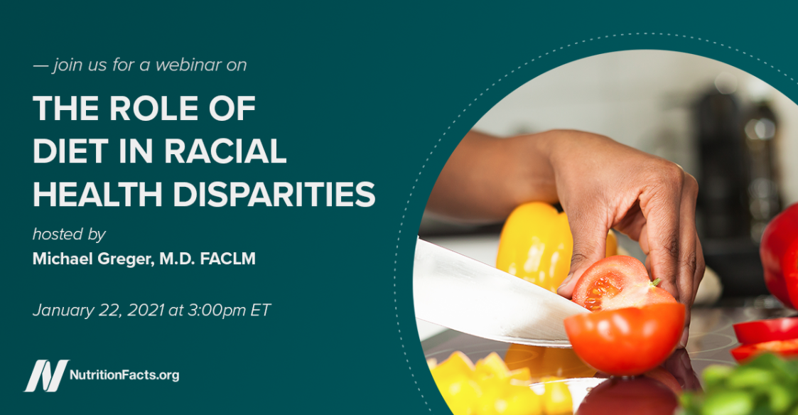 The Role of Diet in Racial Health Disparities event