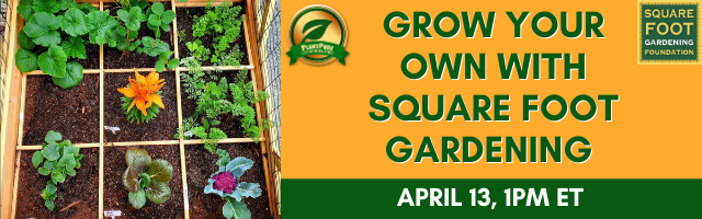 Grow Your Own with Square Foot Gardening