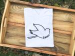 White Redeemed Bird T-Shirt