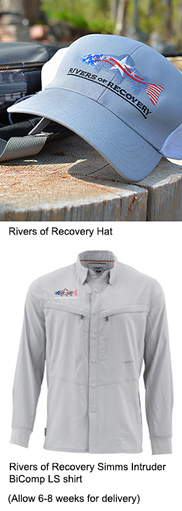 Rivers of Recovery Hat and Shirt
