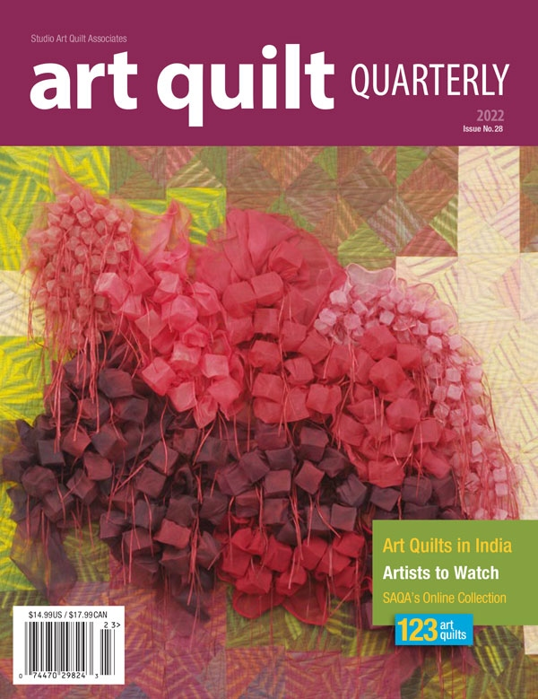 Art Quilt Quarterly: 1 yr subscription (4 issues)