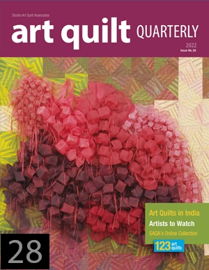 Art Quilt Quarterly- single issue