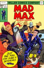 Mad Max 2 Comic Book Cover