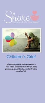 Children's Grief: Share Informational Brochure