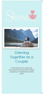 Grieving Together as a Couple: Share Informational