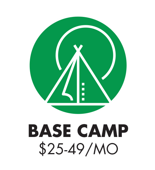 Base Camp Club $25 - 49 monthly