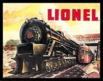 PRR Lionel Tin Sign