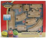 Chuggington Wooden Railway Track Pack Train Track