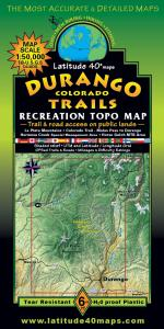 Latitude 40 Durango Trails Map
