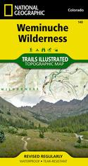 National Geographic Weminuche Wilderness Map #140