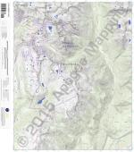 Columbine Pass 7.5' Quad Map by Apogee Mapping