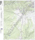 Mountain View Crest 7.5' Quad Map by Apogee Mappin