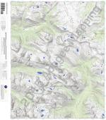 Storm King Peak 7.5' Quad Map by Apogee Mapping