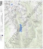 Emerald Lake 7.5' Quad Map by Apogee Mapping