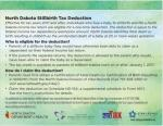ND Stillbirth Tax Deduction Cards