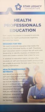 Health Professional Education Information